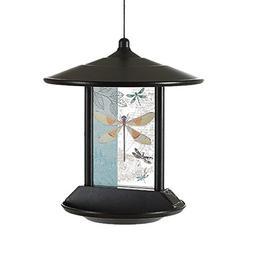 CEDAR HOME Hanging Solar Bird Feeder Outdoor Garden Decorati