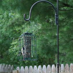 Sunnydaze Outdoor Hanging Wild Bird Feeder, Metal Wire Cage,