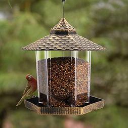 Twinkle Star Wild Bird Feeder Hanging for Garden Yard Outsid