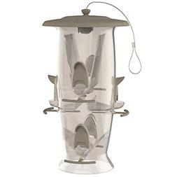 Hanging Wild Bird Seed Feeder 6lb Storage Out Door Yard Squi