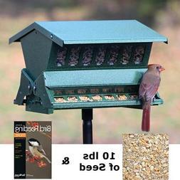 BestNest Heritage Farms Absolute :: Bird Feeder with Waste F