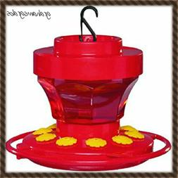 FIRST NATURE HUMMINGBIRD FEEDER  16 OZ WIDE MOUTH #3091 EASY