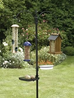 "J Miles UH-BS254 Premium Bird Feeding Station Kit, 22"" Wide"