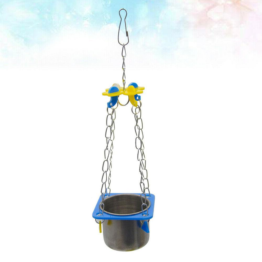1 Parrot Food Cup Useful Pet Pet for Squirrel