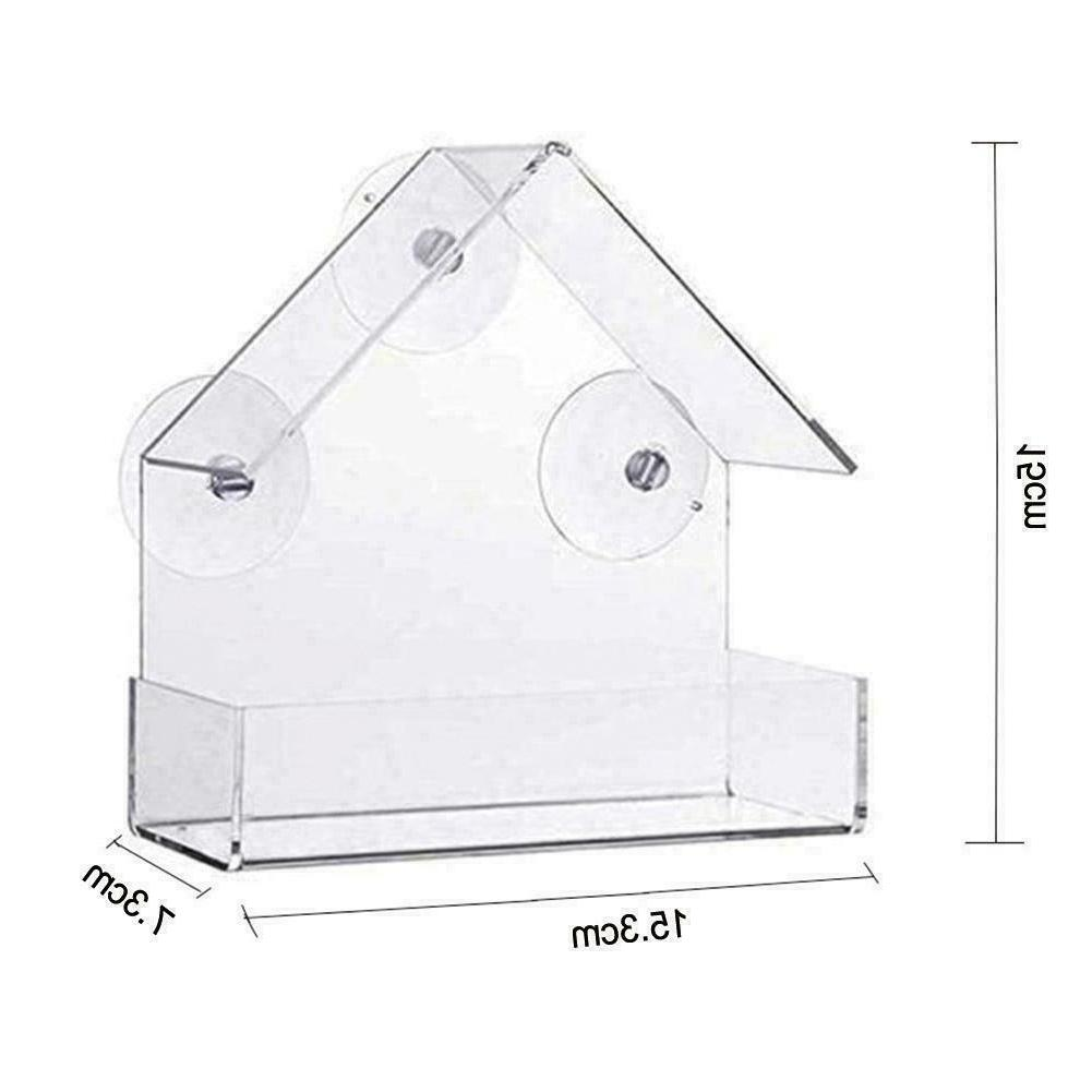 1 x Plastic House Window Birdhouse W