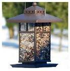 "WOODLINK AUDUBON 11"" METAL SQUARE LANTERN BIRD FEEDERS - NA"
