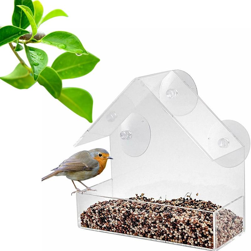 New Viewing Table Seed <font><b>Hanging</b></font> Suction Type <font><b>Bird</b></font> <font><b>Feeder</b></font>