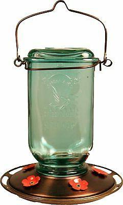 25oz mason jar hummingbird feeder model 68