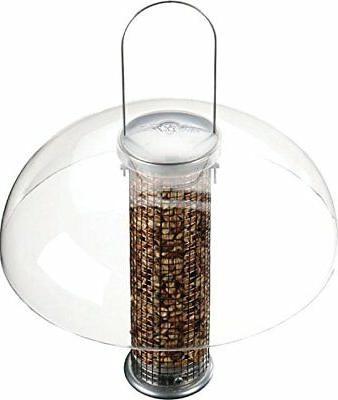 tube bird feeder dome