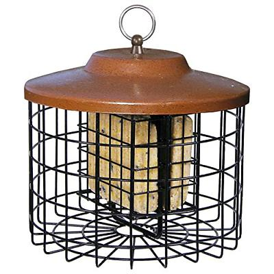 Stokes Select 38069, Brown X Squirrel Proof Bird Feeder, 2 S