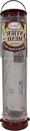 Aspects Inc 431 Quick Clean Nyjer Mesh Tube Bird Feeder