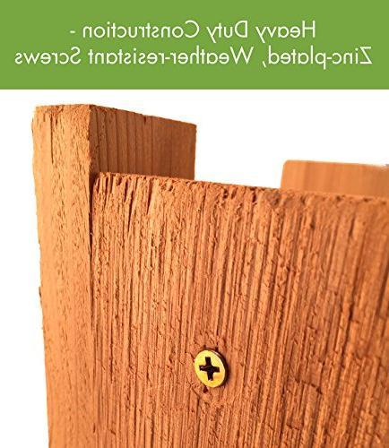 WoodLink AT3 in. Deluxe Cedar