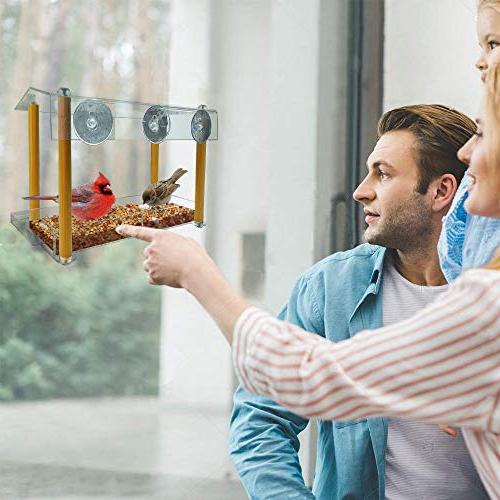Bird size & drinking-water pillar weatherproof shield hole, house