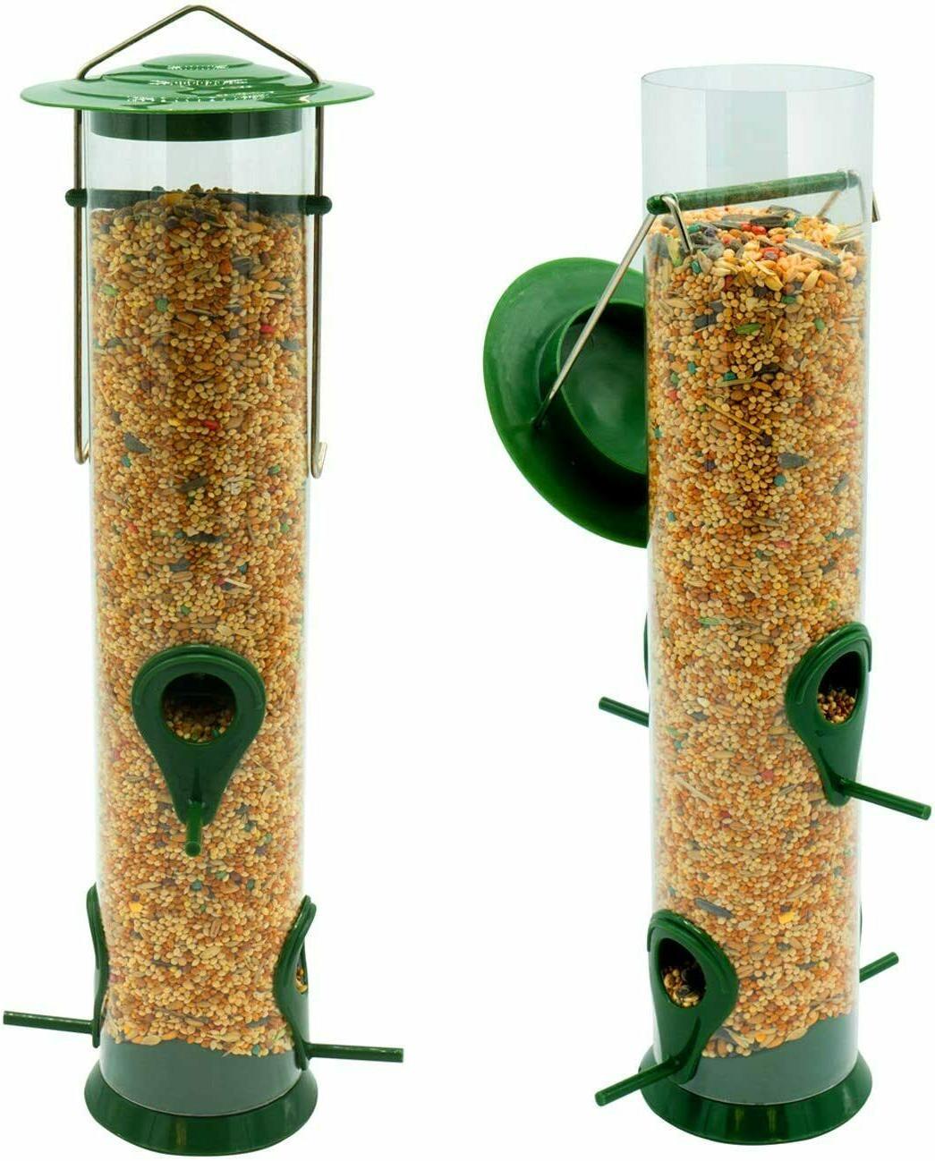 bird feeder classic tube hanging