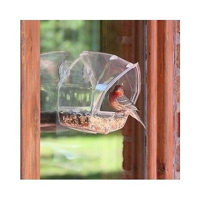 Outdoor Bird Feeder Window