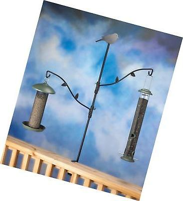 Stokes Select Bird Metal Pole with Two Adjustable Branches