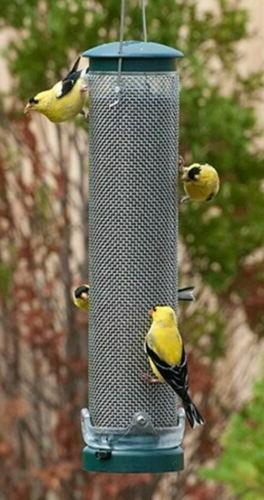 Bird Feeder Aspects Nyger,Thistle Mesh Birdfeeder with Quick