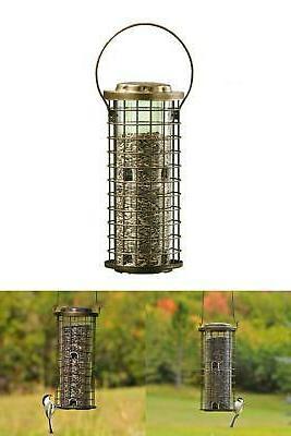 Bird Feeder Seed Feeders Hanging Feeding Ports Squirrel Proo