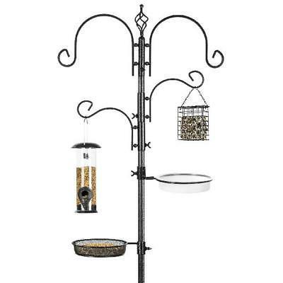 bird feeder stand 91 inch 2 feeders