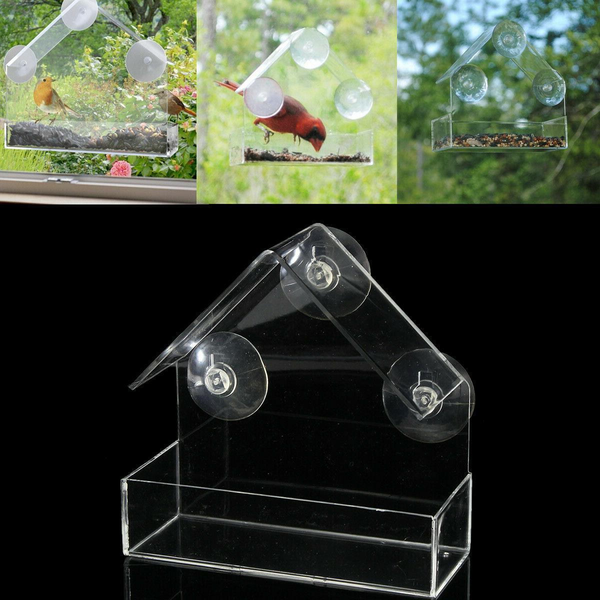 Bird Window Clear Mount Outdoor