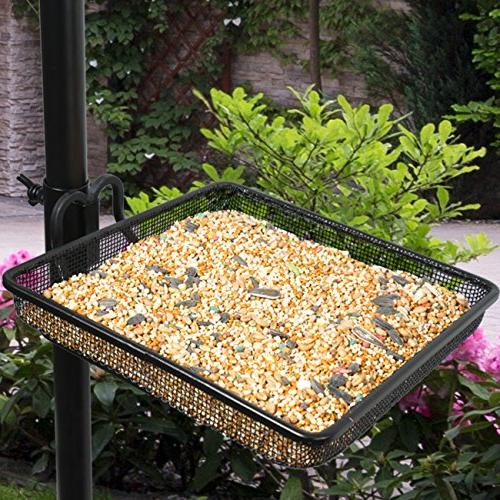Sorbus Bird Bath Station, Pole for Bird for Birds Outdoors, Backyard,