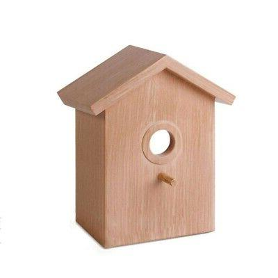 Pet Birdhouse With Suction Cup Garden Nest