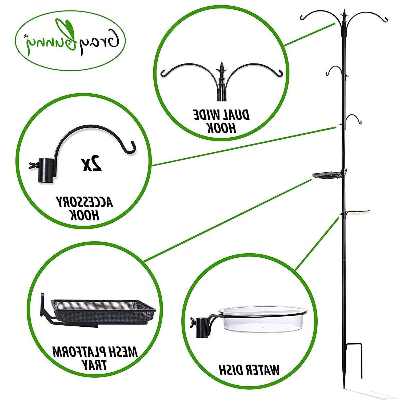 "Bird Feeder Removable Hangers GrayBunny 22""x91"