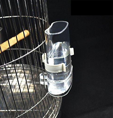 Cydnlive Waterer Feeders, Feed Dispenser, Clear and