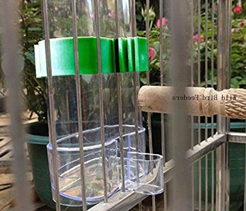 Cydnlive Bird Feeders, Dispenser, Clear and Water By