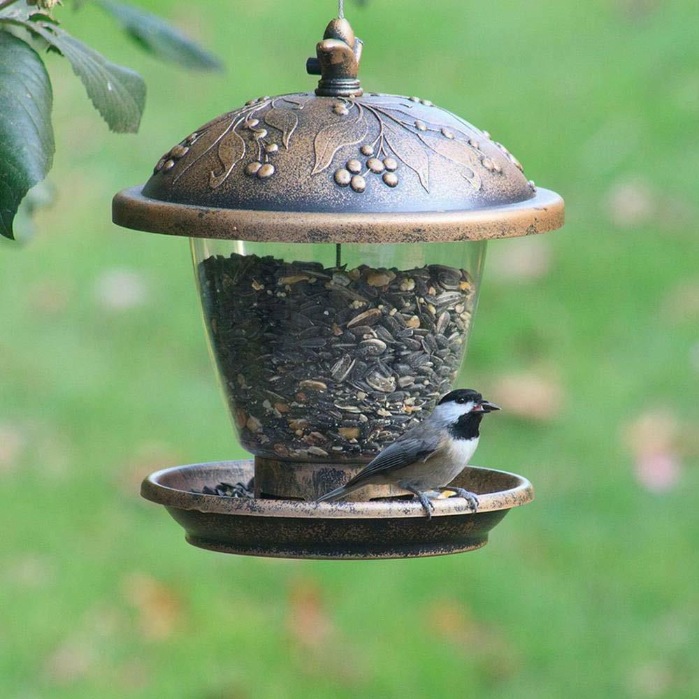 Chalet Bird Feeder Proof Outdoor Garden Patio
