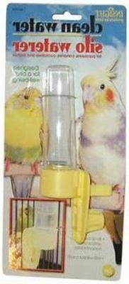 JW Pet Company Clean Water Silo Waterer Bird Accessory, Regu
