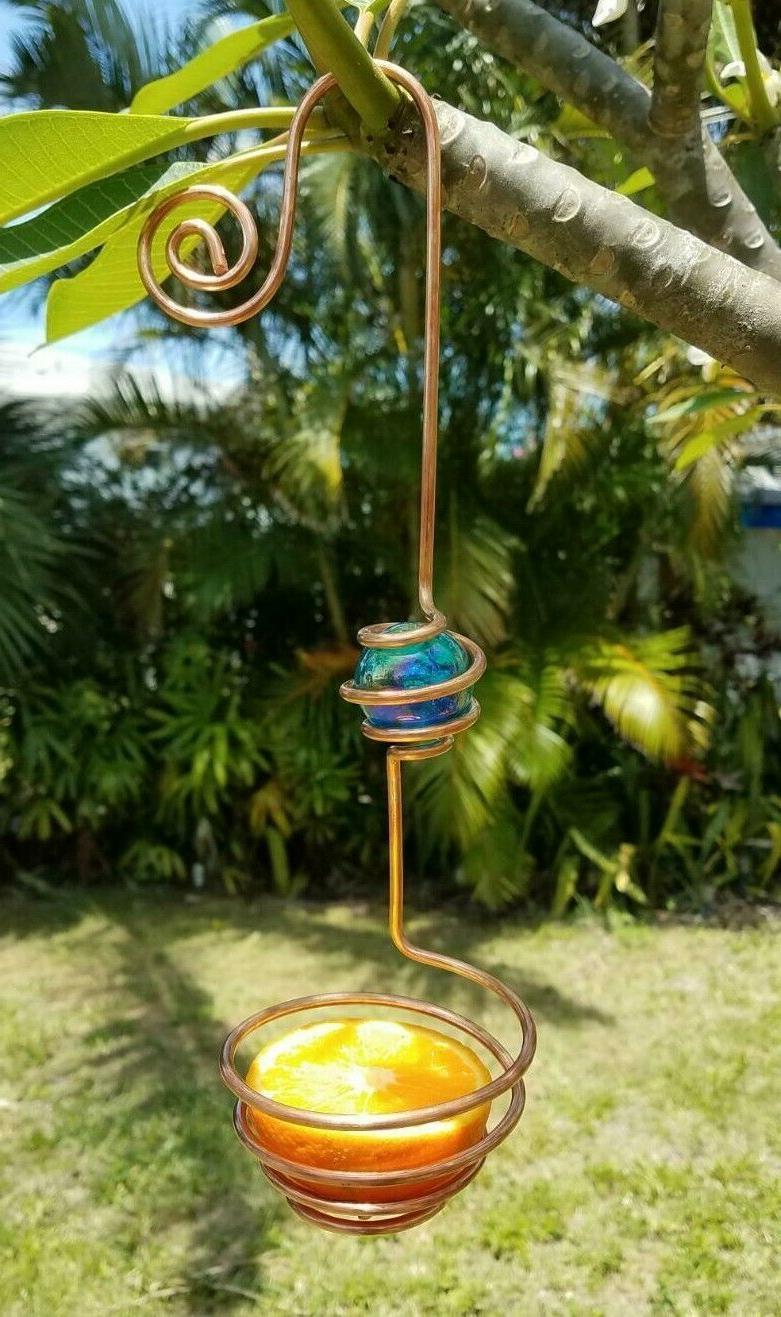 copper oriole feeder bird feeder