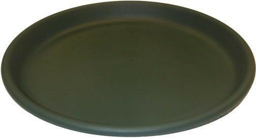 Erva D17GR 17 in. dia. Bird Bath Plastic Dish Green