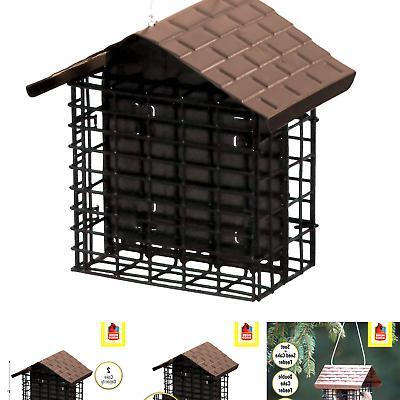 double suet bird feeder