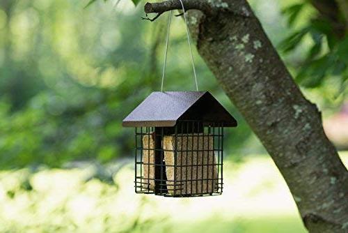 MEKKAPRO Double Suet Bird Metal Capacity, Bird