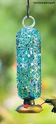 Parasol Filigree Hummingbird Feeder, Ocean, 20 oz.