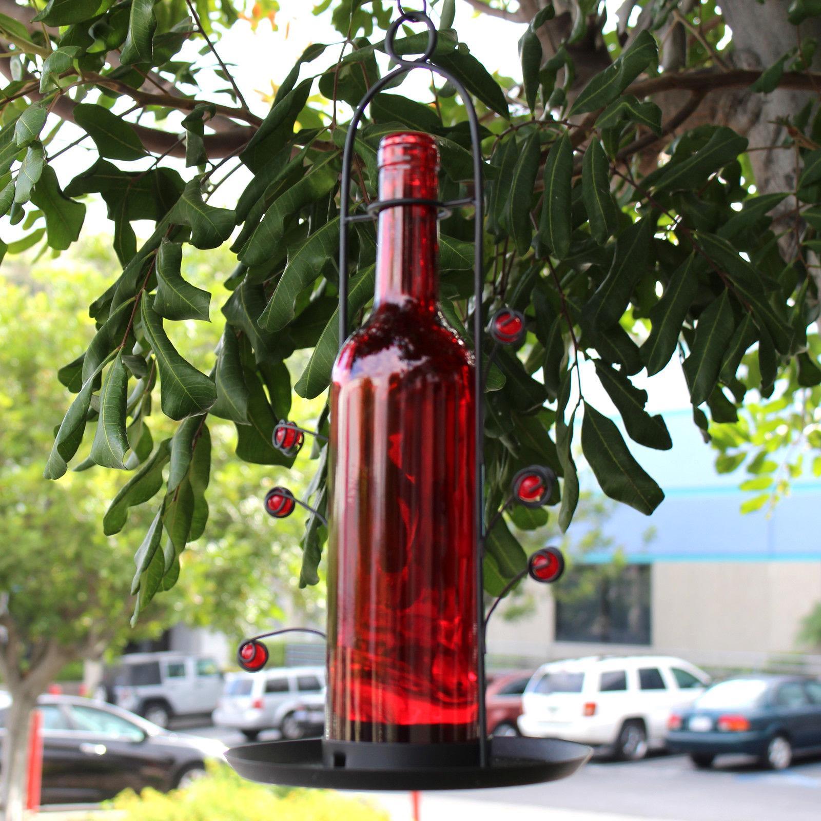 FREE Bird Seed Glass Bottle Great Gift