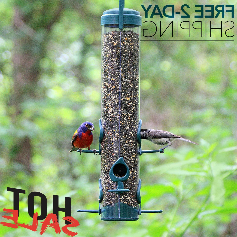 garden song squirrel proof wild bird feeder