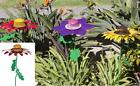 Ultimate Innovations Giant Flower Bird Feeder Seed QVC Brand