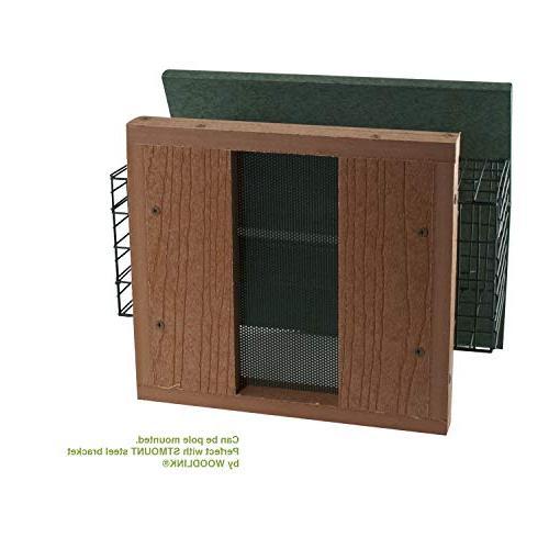 Woodlink Premier Bird Feeder With Suet Cages Model