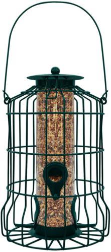Gray Bunny GB-6860 Caged Tube Squirrel Proof Wild Bird Feede