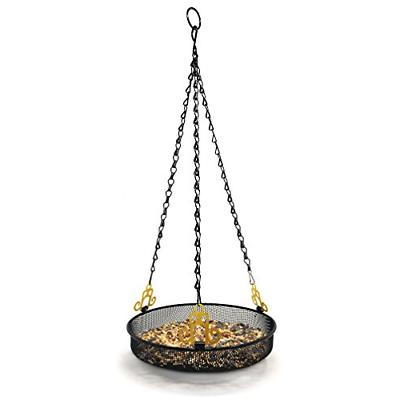 hanging bird feeder tray with strong double