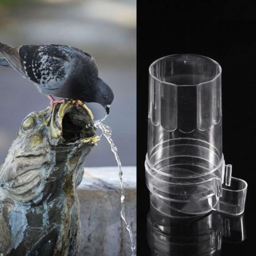 Hanging Bird Parrot Feeder Water Drinking Feeding Bowl Bird
