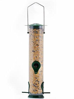 hanging bird wild feeder seed