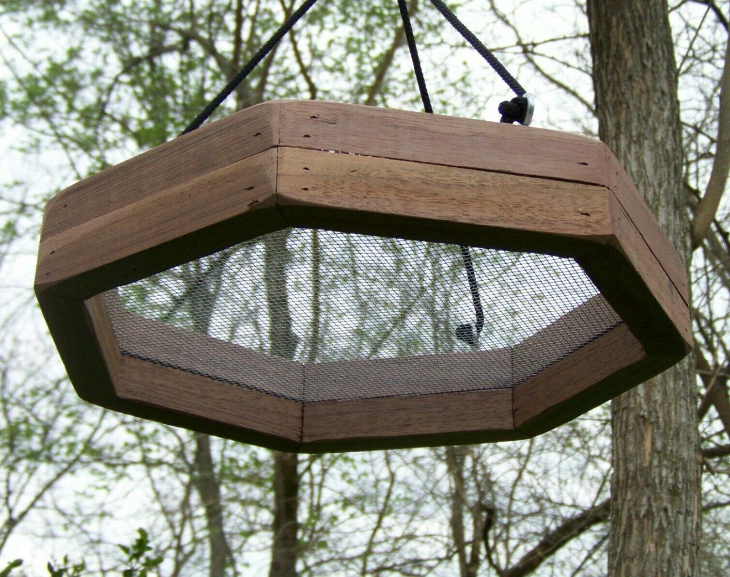 Hanging Wood Feeder