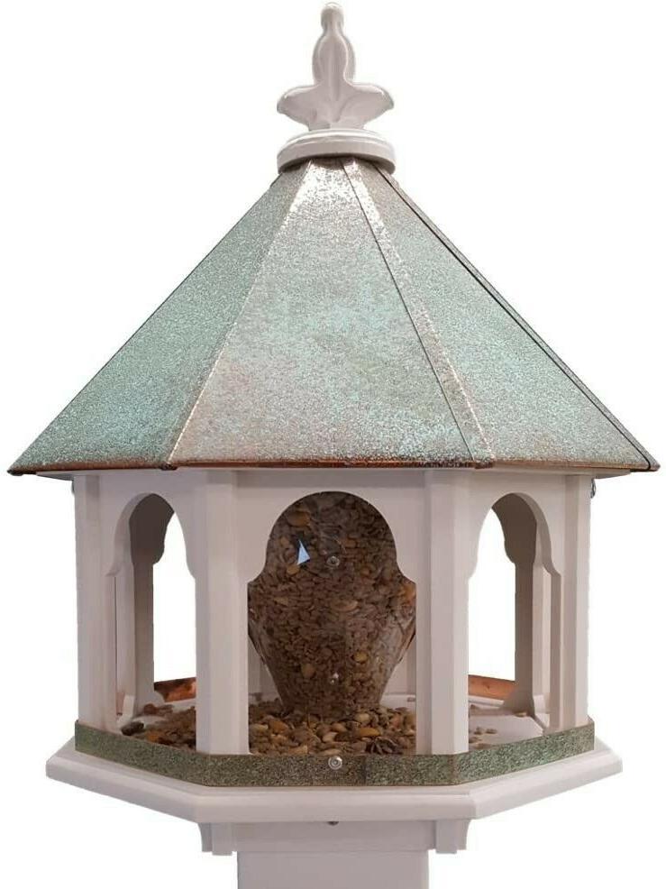 large capacity wild bird feeder pvc body