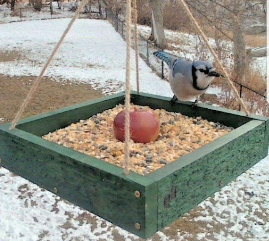Bird or Squirrel Platform Handmade in