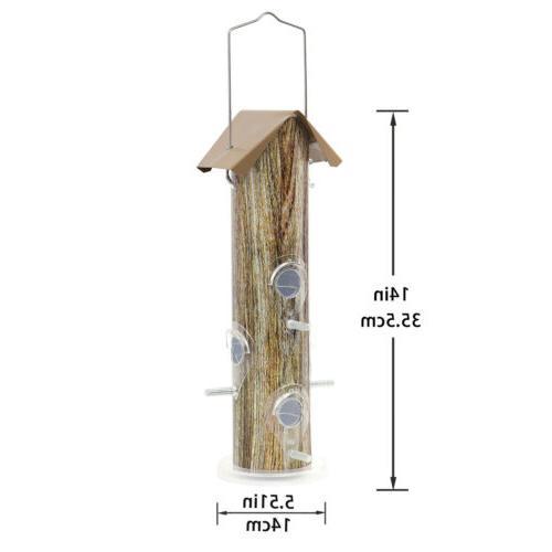KINGSYARD Bird Metal Finch Seed Feeders Friendly