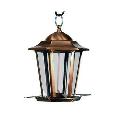 na11193 copper carriage bird feeder