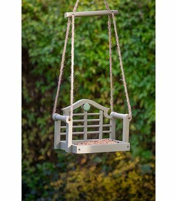 Wildlife World National Lutyens Seat Feeder Green